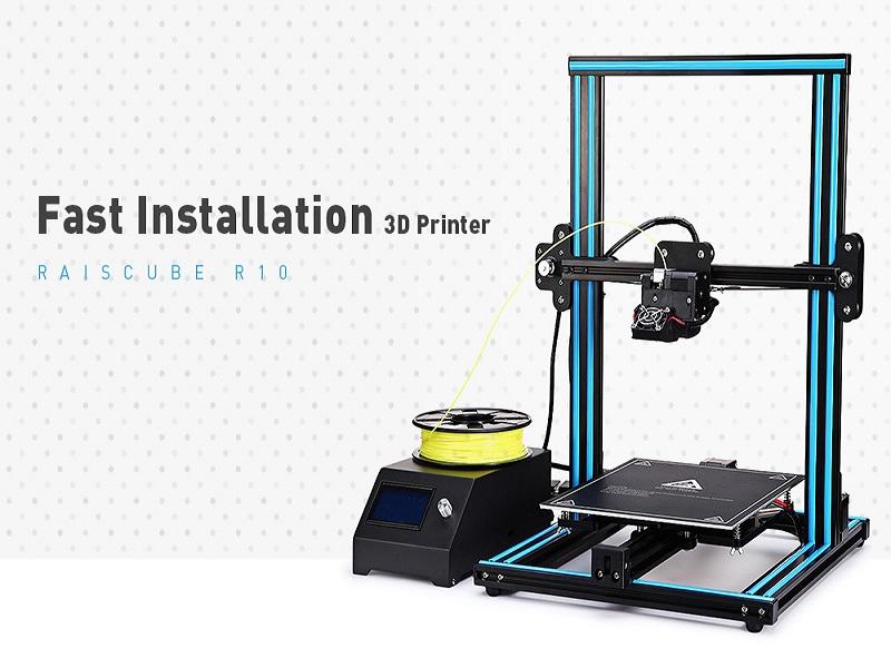 RAISCUBE R10, la impresora 3D que estabas buscando