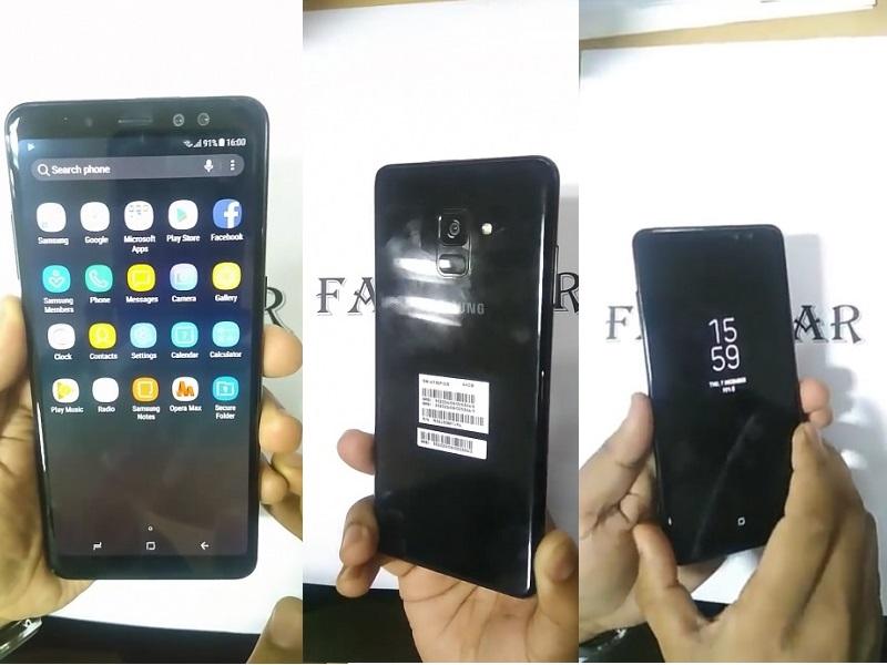 Samsung Galaxy A8+ (2018) llegará con tres versiones