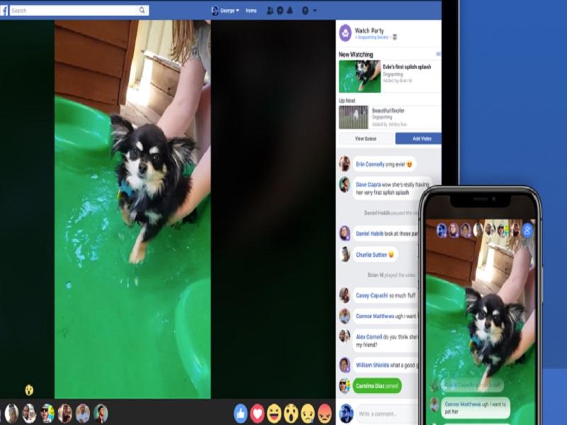 Facebook Watch Party una nueva función de la red social