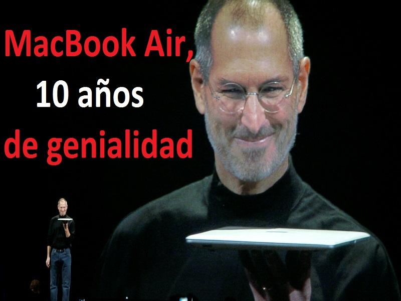 MacBook Air, feliz décimo cumpleaños Steve Jobs