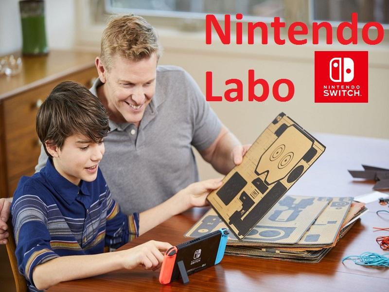 Nintendo Labo, el mejor aliado de la consola Switch