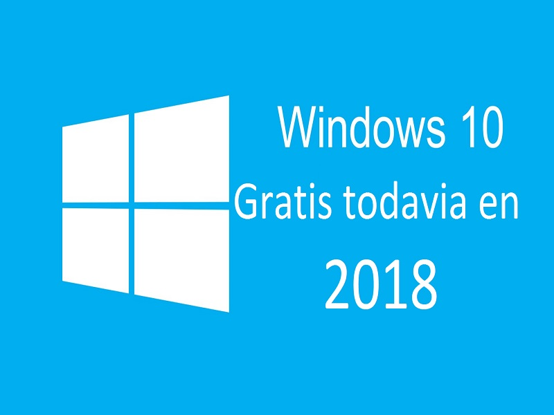 Windows 10 aún es actualizable de manera gratuita