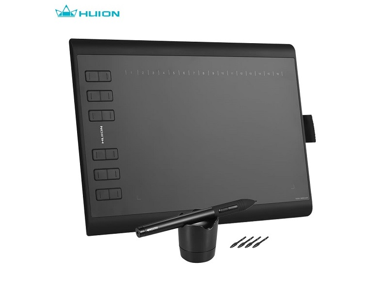 HUION 1060PLUS, una excelente y accesible tableta gráfica