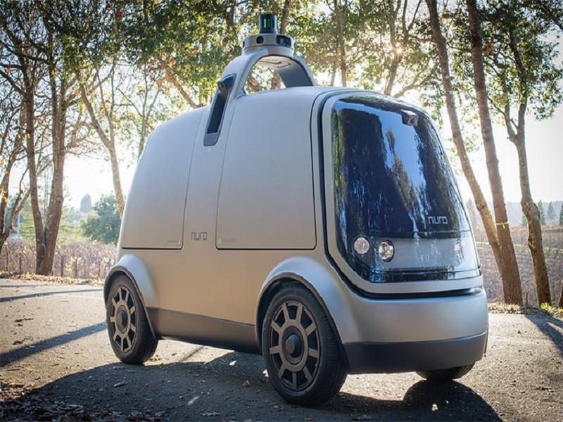 Nuro R1, un coche autónomo para el reparto de mercancías