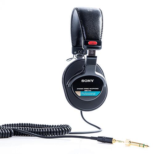 Sony MDR-7506 Los laterales se descubre bien identificados