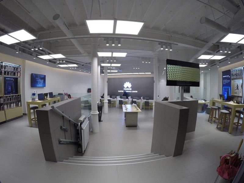Así es el nuevo Centro de Experiencia de Huawei en Barcelona