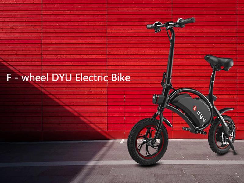 F – wheel DYU D2, una bici eléctrica rápida y liviana