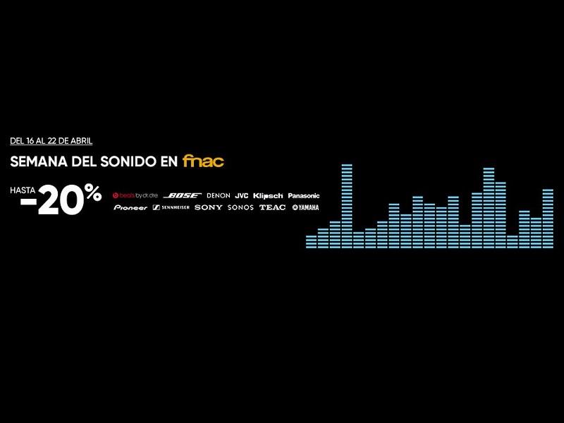 Las mejores ofertas de la semana del Sonido en FNAC