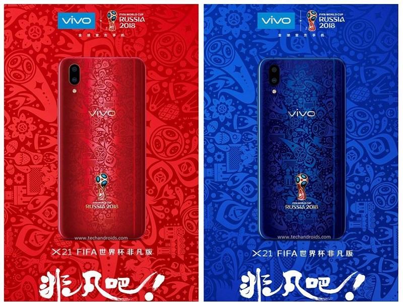 Vivo X21, el teléfono oficial de la Copa del Mundo 2018