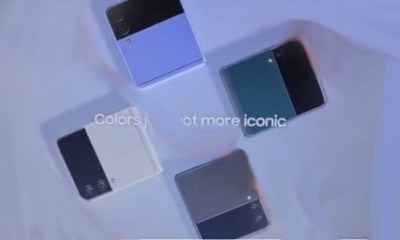 Samsung Galaxy Z Flip 3 leak images