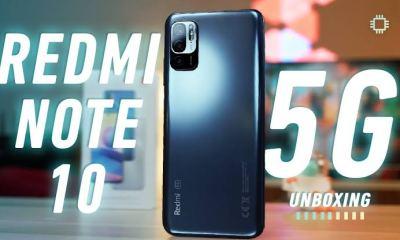 Xiaomi Redmi Note 10 5G unboxing