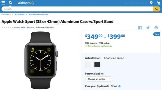 apple watch_walmart