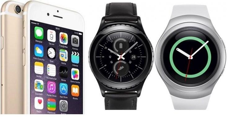iphone & gear s2