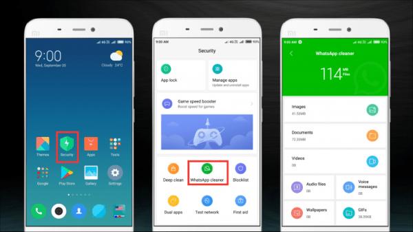 Xiaomi smartphones get WhatsApp Cleaner feature in MIUI 10 ...