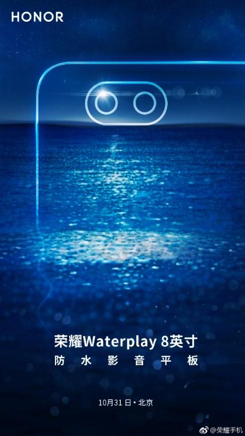 Honor WaterPlay 8 é um tablet com câmara dupla e resistência à água 1
