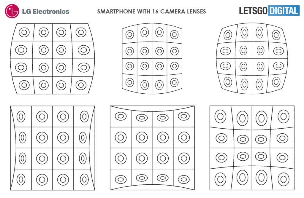 LG Phone with 16 cameras b - إل جي تستعد لإطلاق أول هاتف في العالم يحمل 16 كاميرا خلفية!