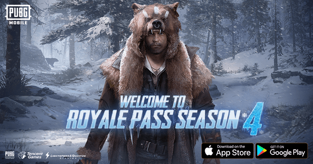 PUBG Mobile 095 Update Brings Royale Pass Season 4 New