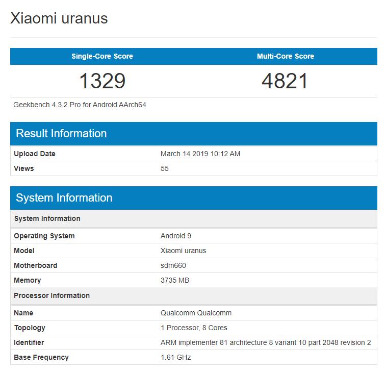 Xiaomi Uranus