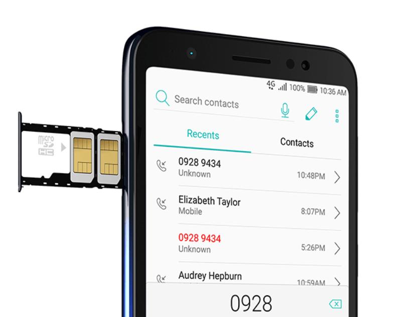 Bandeja do ASUS Zenfone Live L2 SIM