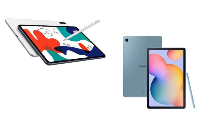 Huawei Matepad Vs Samsung Galaxy Tab S6 Lite More Similarities Than Expected Gizmochina