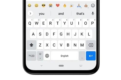 GBoard Quick Access Emoji Bar Featured