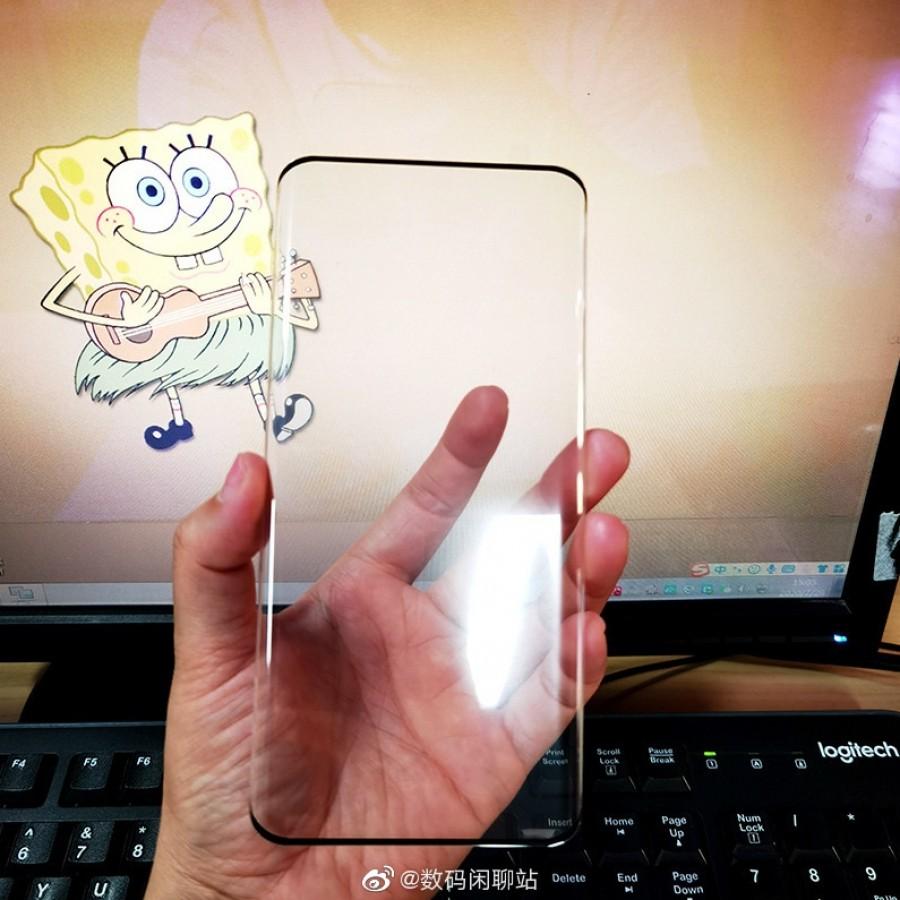 Huawei Mate 40 Pro screen protector leaks again