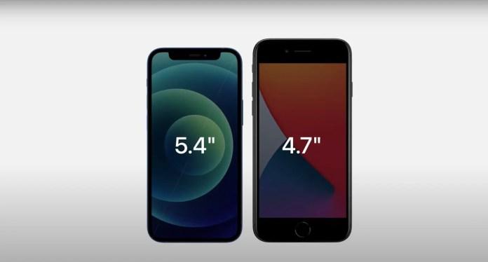 Iphone 12 Mini Vs Iphone Se 2020 Specs Comparison Gizmochina