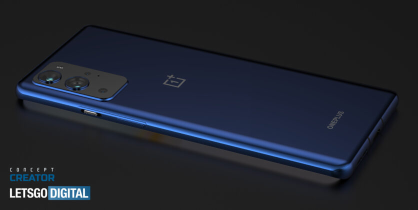OnePlus 9 Pro 3D CAD Render based on Leaks 04