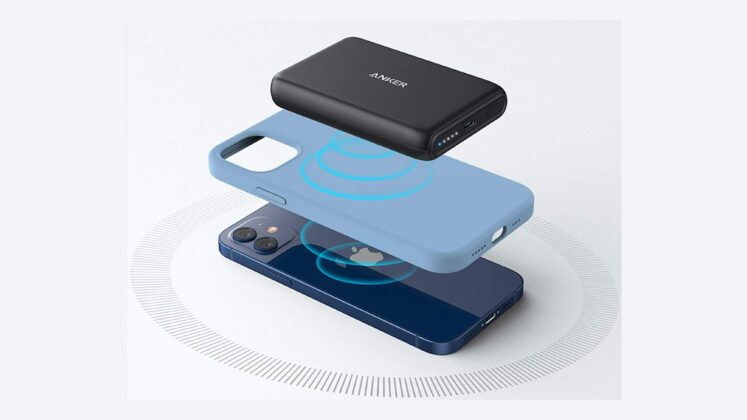 Anker PowerCore Magnetic 5K Wireless Power Bank Apple MagSafe 04