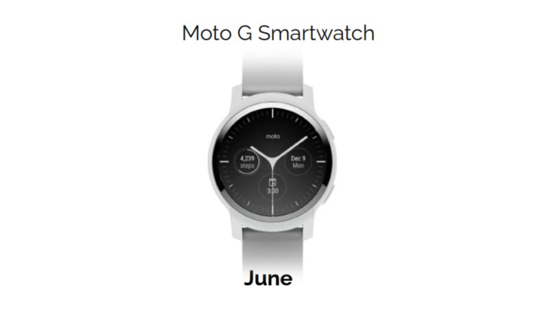 Moto G Smartwatch Leak