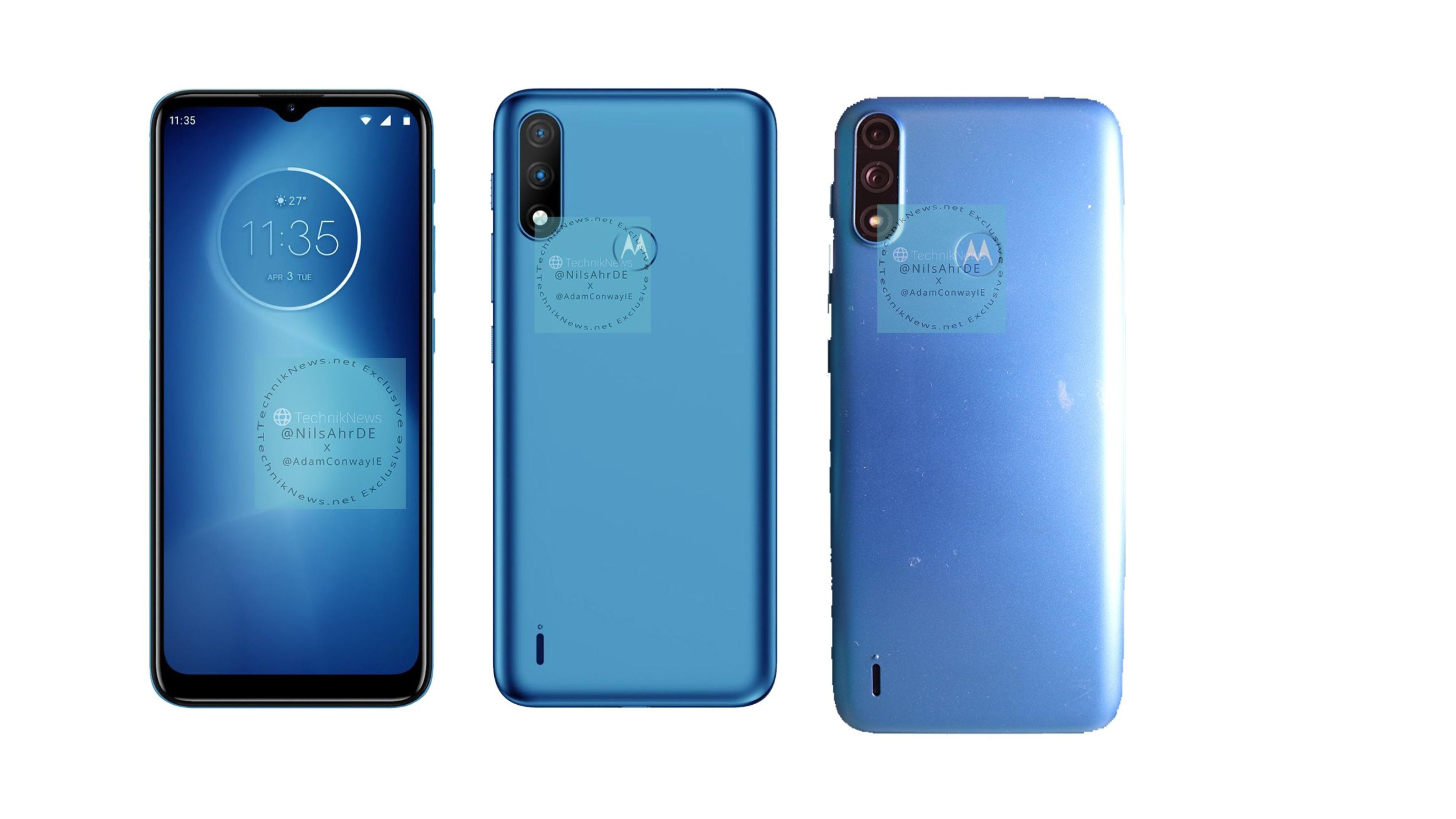 Motorola Moto E7 Power Renders Live Images Leak