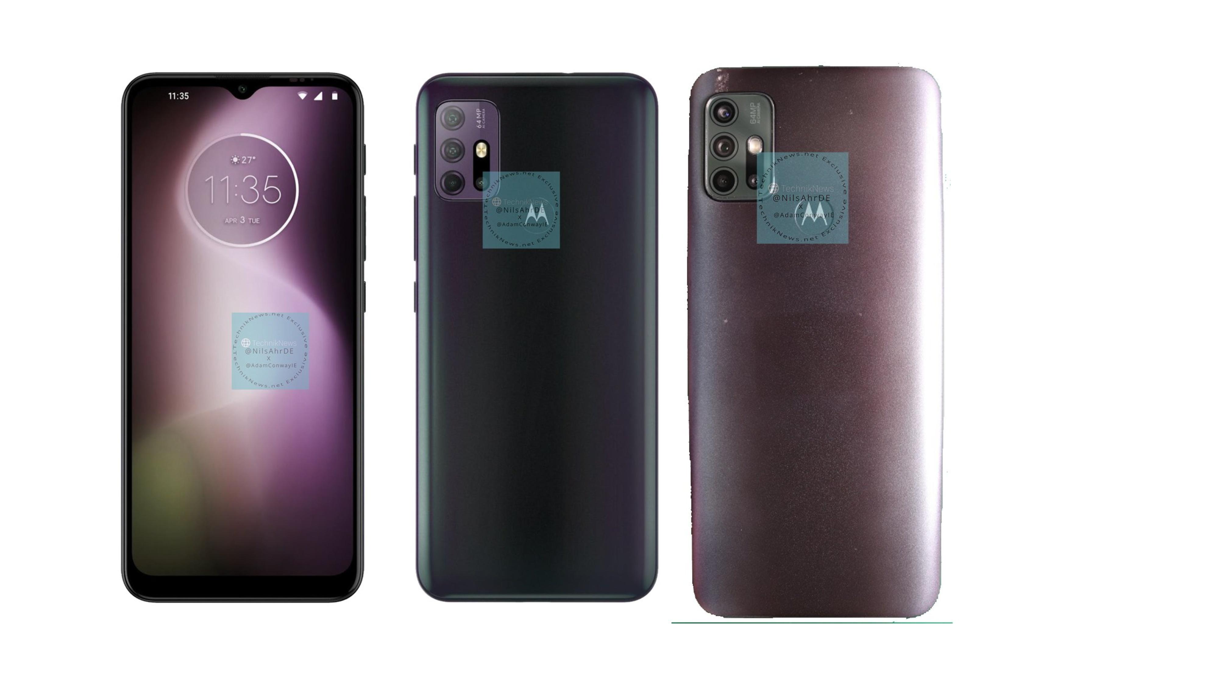 Motorola Moto G30 Renders Live Images Leak