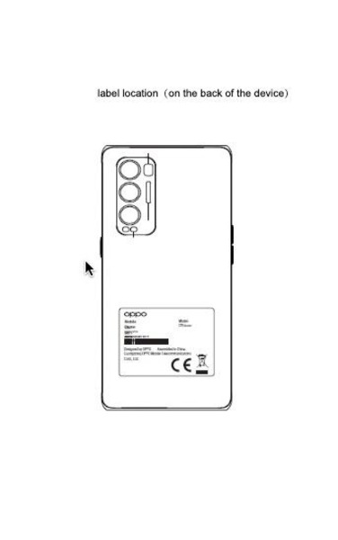 OPPO Reno 5Z key specifications, the design emerged from the presence of FCC, OPPO 74 5G also certified