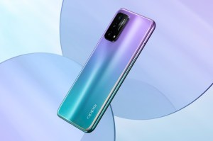 The OPPO A74 5G was introduced as India's first Snapdragon 480 smartphone