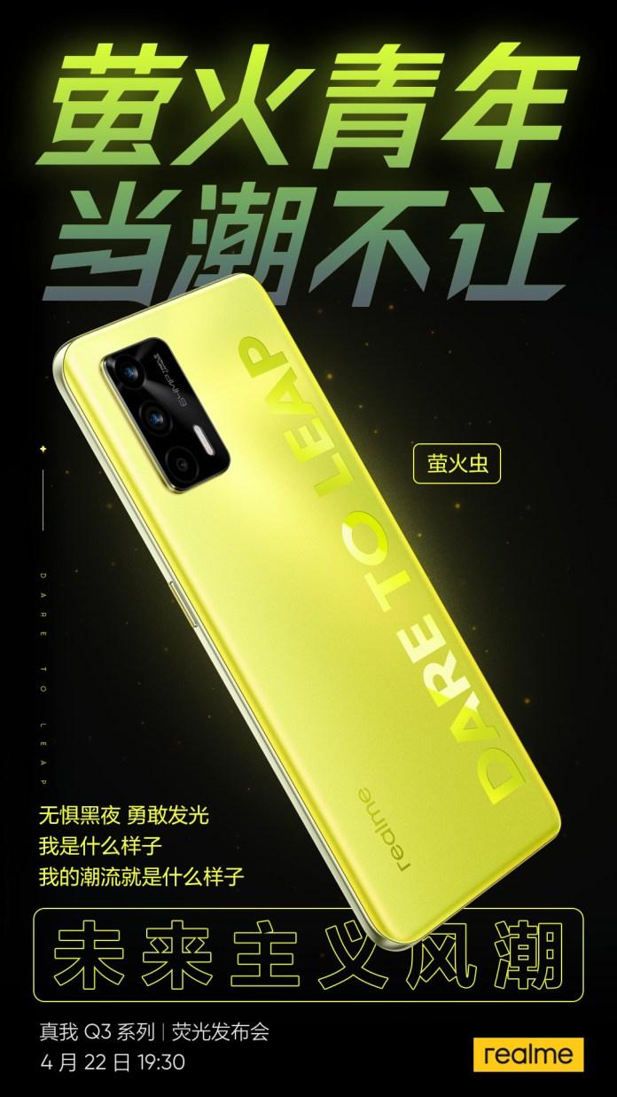 Realme Q3 Pro poster