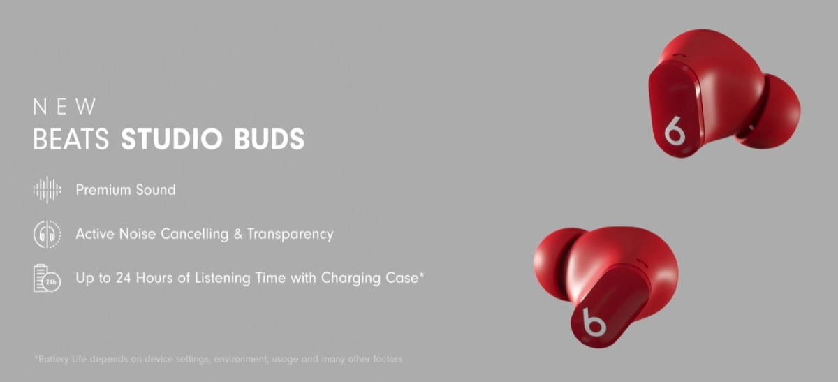 Beats Studio Buds arrives with fewer Apple features but better Android support for $150 - Gizmochina