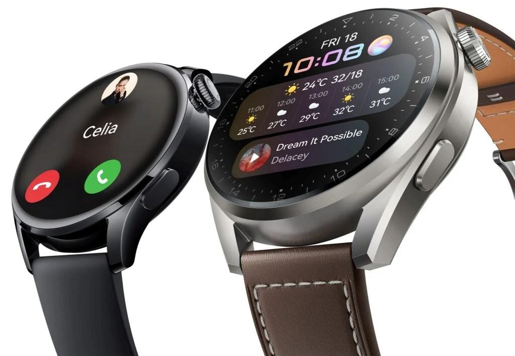 Huawei Watch 3 renders