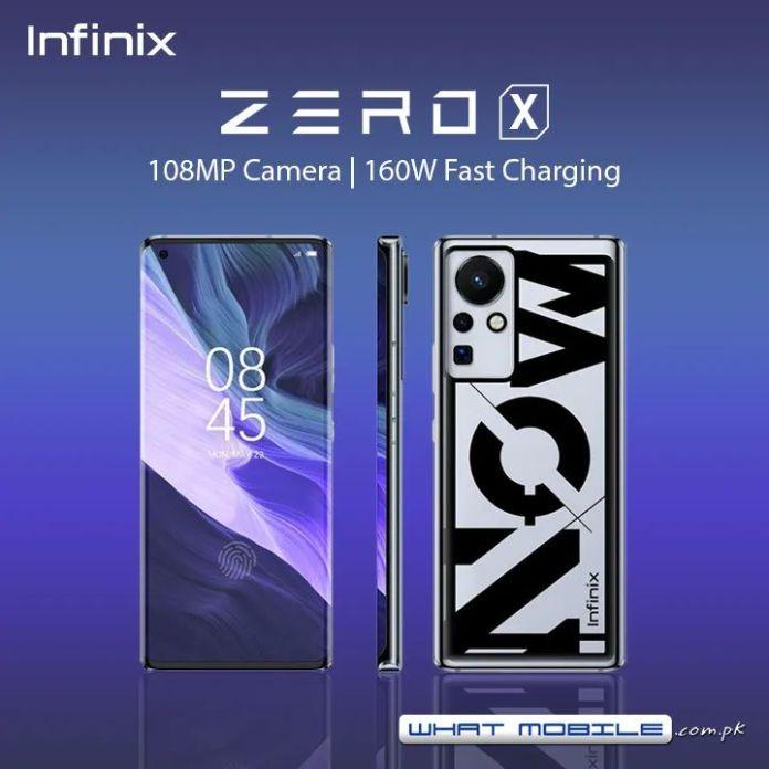 Infinix Zero 8 poster