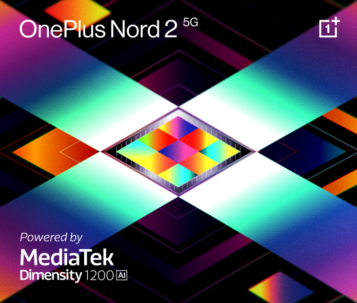 OnePlus confirms Nord 2 5G with a customized Dimensity 1200-AI chip