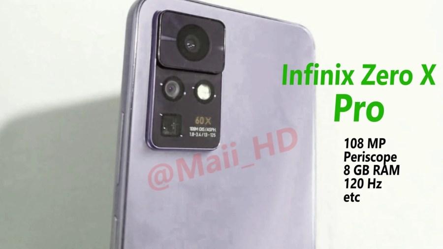 Infinix Zero X Pro live shot