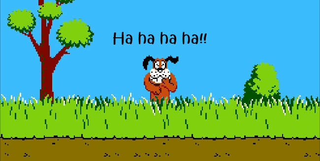 game the dog in duck hunt