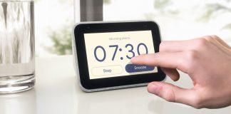 Lenovo Smart Clock and Smart Display