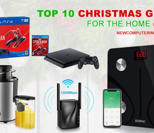 Top 10 Christmas Gifts for the Home 2018