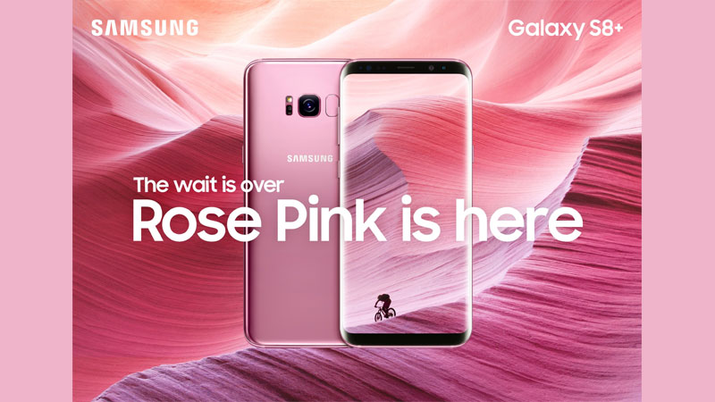 Samsung Galaxy S8 Plus Rose Pink