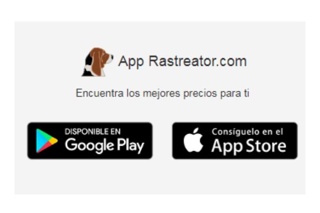 Rastreator también tiene aplicación