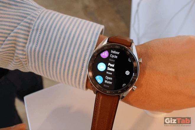 Modos del Huawei Watch