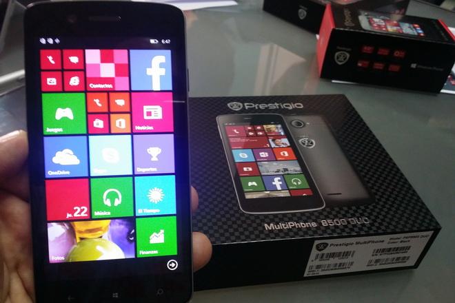 Prestige presenta sus nuevos smartphones con Windows Phone