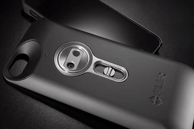 FLIR ONE: La funda de iPhone con la que podrían robarnos contraseñas