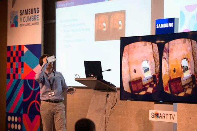 Samsung devela SDK para apps de Gear S y Gear VR