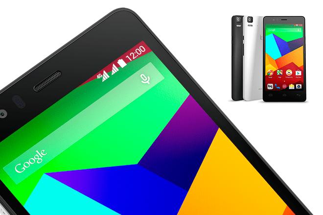smartphone-Aquaris-E5-4G